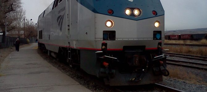 My First Amtrak Ride: December 2011